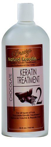 Brazilian Hair Treatment Chocolate Keratin Complex 16 oz - Step 2 by Breeze Natural Keratin *** Click image for more details.