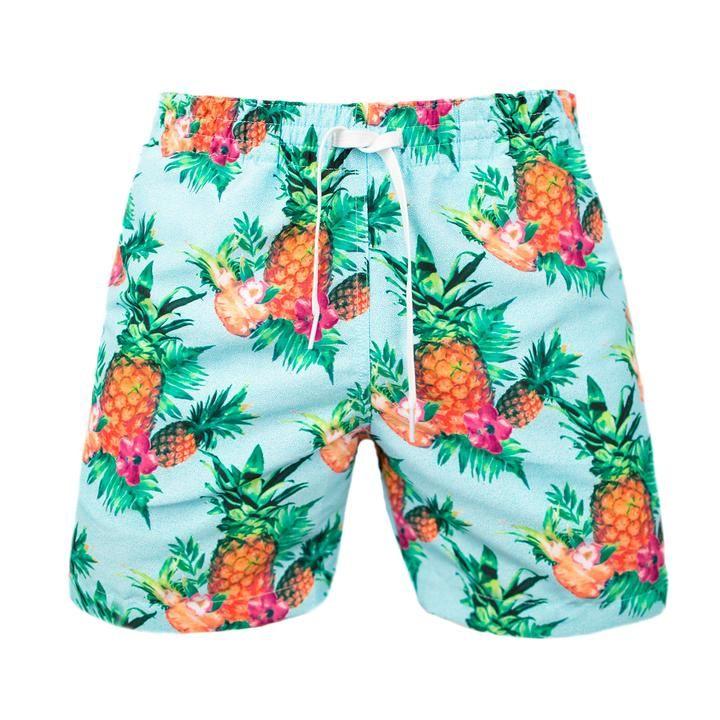 Muchas Piñas | Chubbies Men's Pineapple Swim Trunks
