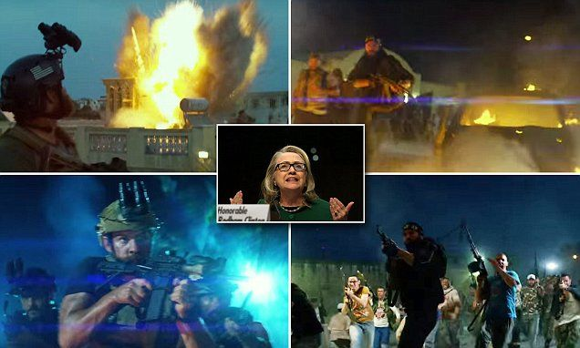 Trailer for Michael Bay's Benghazi film that Hillary Clinton will want to forget | Daily Mail Online