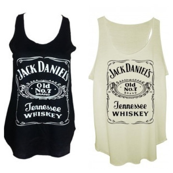 Jack daniels tank tops vest one size fits all by Sagarmatha, £5.99