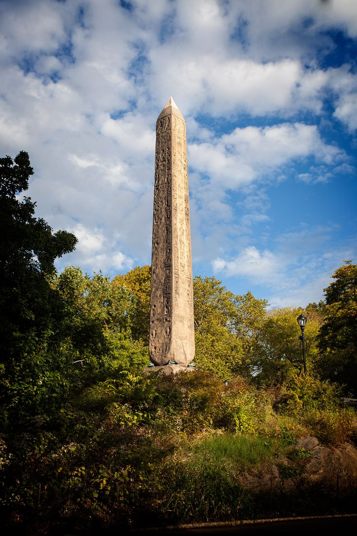 Another of the so called 'Cleopatra's Needles'. This one is located in Central Park, New York.  This is actually the twin of the Obelisk at the Embankment, London. Not quite sure where the Cleopatra's Needles moniker came from, since they were not carved in Cleopatra's reign, or even close.