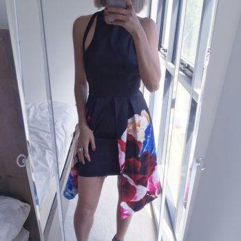 SANGRIA BLACK DRESS