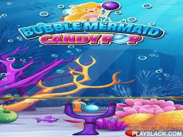 Bubble Mermaid: Candy Pop  Android Game - playslack.com , Shoot varicoloured globules from a propel. Aim at an agglomeration of globules at the top of the screen. equal 3 and more same globules. investigate the subsurface world with an attractive mermaid in this game for Android. On each stage you'll need to pop varicoloured globules to do the work and act your voyage. Aim your globules to create and pop as many same globules as accomplishable. That route you'll get additional awards and…