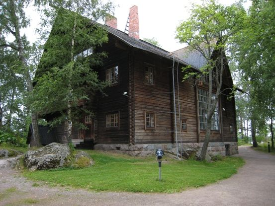 Halosenniemi, an ateljé home of Finnish painter Pekka Halonen in Tuusula, Finland