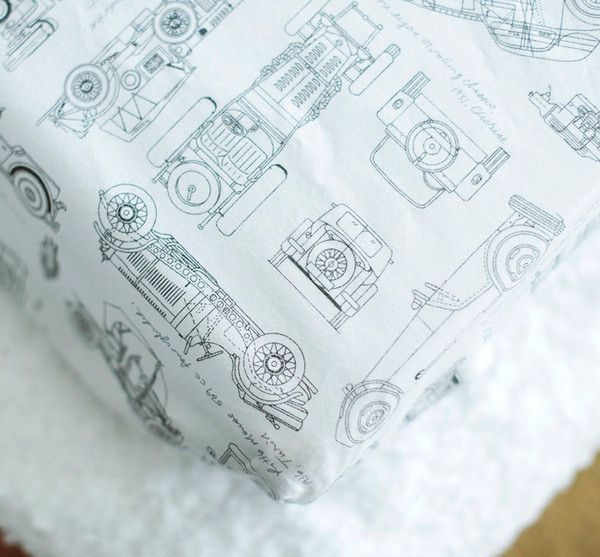 Vintage Cars Changing Pad Cover
