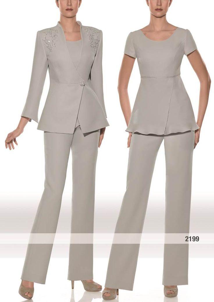 Traje de chaqueta para madrina | modelo 2199 colección otoño-invierno Teresa Ripoll