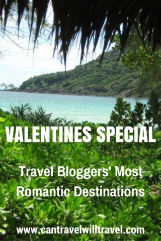 Travel Bloggers' Most Romantic Destinations, Beach View of Koh Rong Samloem, Cambodia