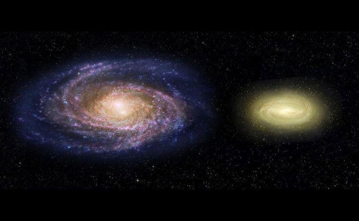"""LA GALAXIA """"MUERTA"""" QUE PUEDE CAMBIAR LO QUE SABEMOS DE GALAXIAS Fotografiada por el Hubble, es la primera vez que los astrónomos ven algo parecido."""