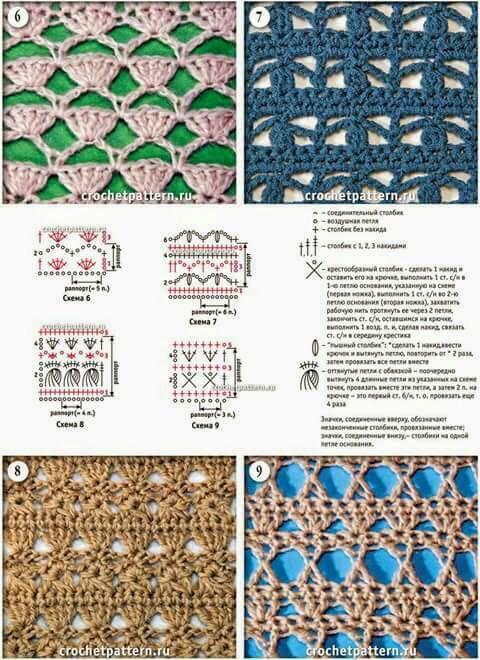 Pin de claudia perez en patrones | Croché, Ganchillo y Ganchillo crochet