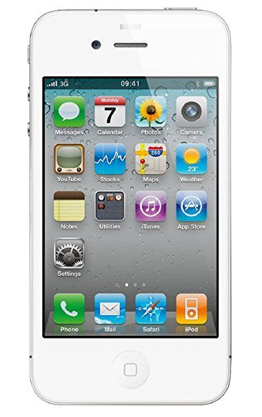 Apple iPhone 4 16GB Unlocked GSM Smartphone w/ 5MP Camera - White (Certified Refurbished)