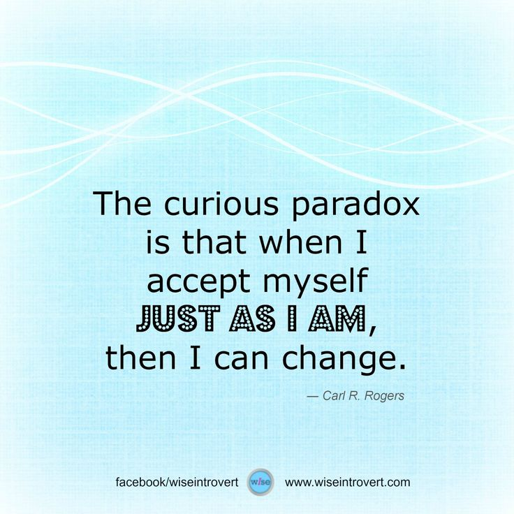 Carl Rogers Famous Quotes: Accept Myself. Posted On The Wise