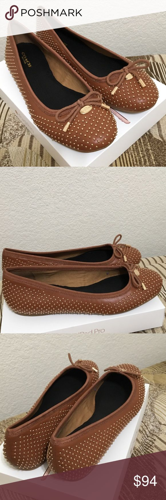Coach Flat Shoes Brown color, Size 7 , Brand New, price firm Coach Shoes Flats & Loafers
