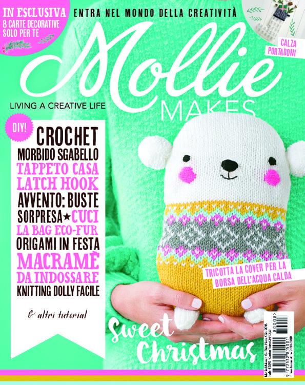 Uncinetto Facile Edicola.Mollie Makes Italia N 8 E Finalmente In Edicola E Profuma Gia Di