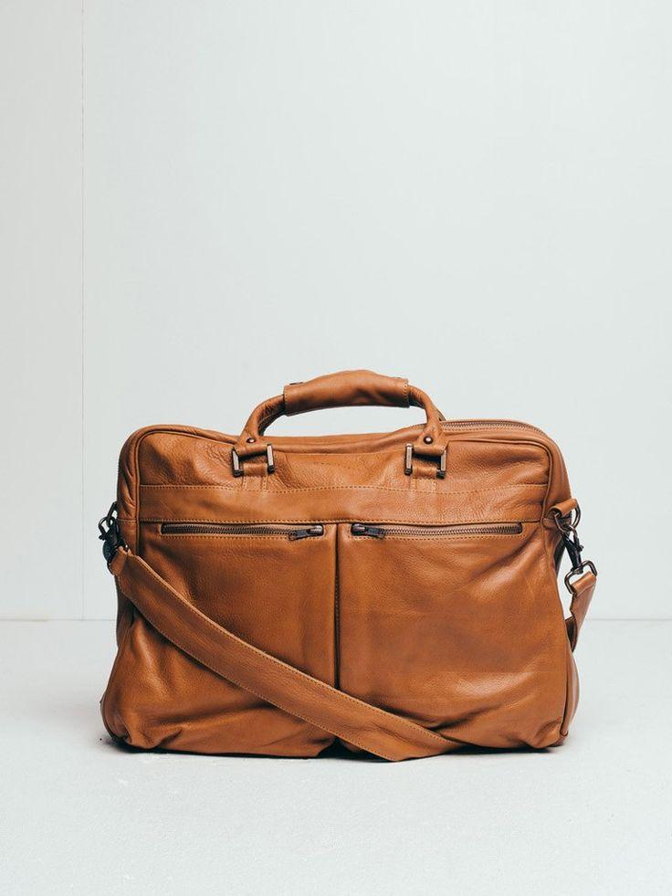 The New Yorker Work Bag - tan