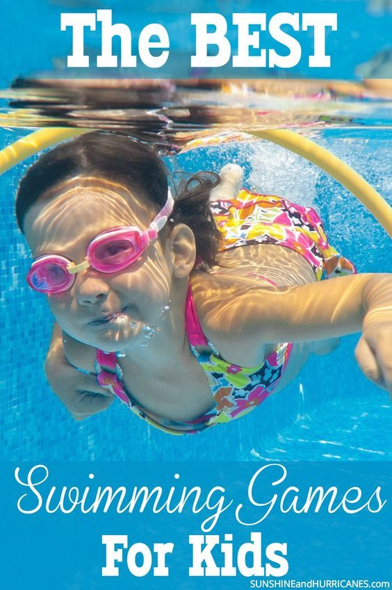 Summer is here and now it's time for days on end spent playing in the pool. Whether you are planning a pool party or just looking for new ways for the kids to have fun in the pool, we've rounded up all THE BEST swimming games for kids. These go way beyond Marco Polo and will provide hours of outside entertainment for all. The Best Swimming Games for Kids. SunshineandHurricanes.com