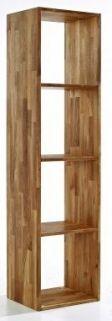 Cheap Pine and Oak Bookcase | UK Cheapest Online Furniture Store | The Furnshop 73.53 gbp
