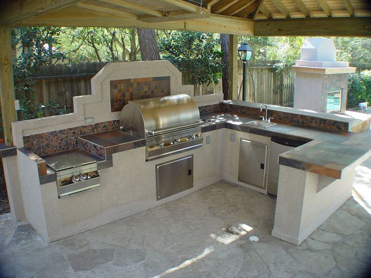 Outdoor Kitchen Design Ideas Backyard 206 best patio covers & bbq islands images on pinterest | outdoor