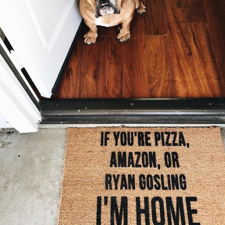 If you're Pizza, Amazon or Ryan Gosling I'm Home.