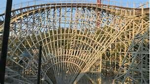 The best ride at six flags magic mountain