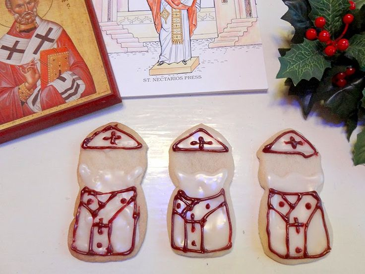 Many Mercies: Cookies for St. Nicholas Day