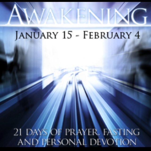 Awakening 21-day fast. Great way to get connected to God and disconnected from the world. @celebration_org Celebration Church