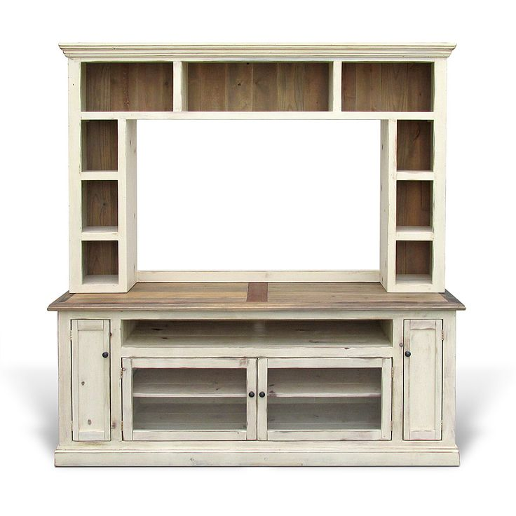 Best 25 white entertainment centers ideas on pinterest white entertainment unit - Reclaimed wood tv stand ideas ...