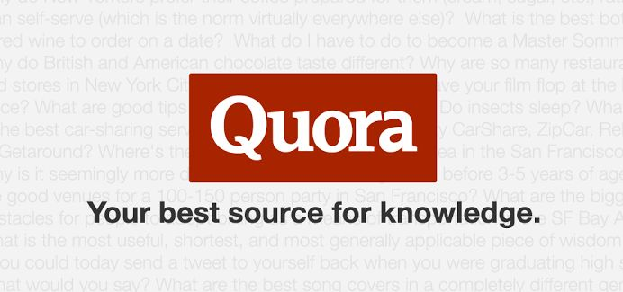 Quora - Best source of Knowledge