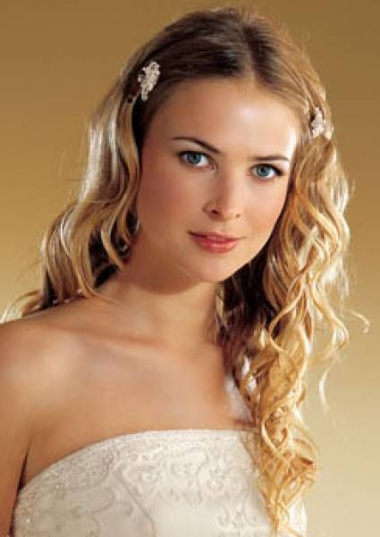 Acconciature per la sposa con capelli lunghi [Foto]