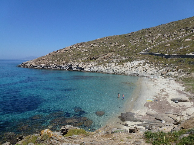 Mykonos: Kapari Beach, Agios ioannis, by croylelond, via Flickr