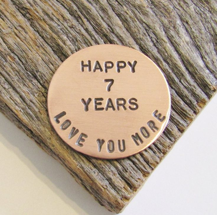 Gifts For Her 7th Anniversary Golf Ball Marker Husband 7 Year Anni C And