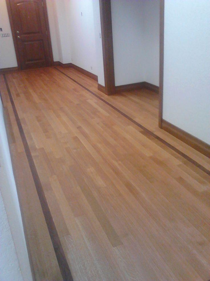 White High Gloss Wooden Flooring