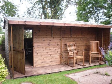 garden shed with verandah - Garden Sheds With Veranda