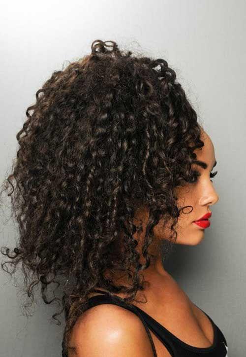 Vem conhecer 20 #penteados com #volume para #cabelos #cacheados e aprenda #passo-a-passo de pra fazer esses lindos cabelos! #salaovirtual