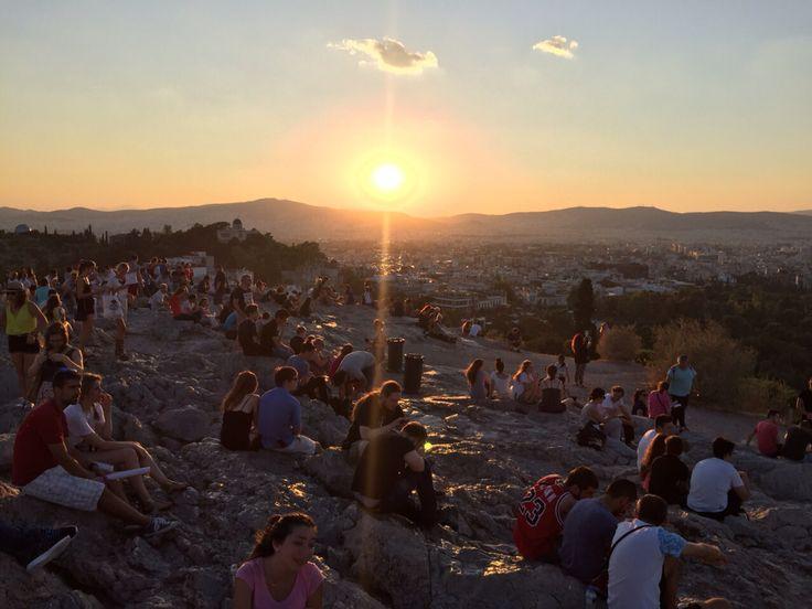 Sunset ☀️Atene - Acropoli
