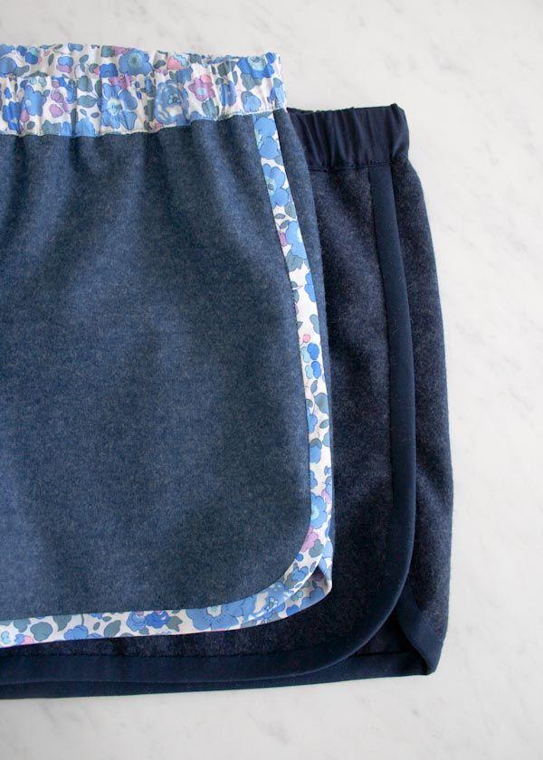 City Gym Shorts - free pattern