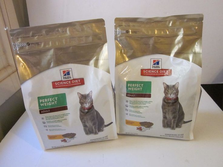 Hills Science Diet Cat Food Chicken Recipe Perfect Weight Adult 3 Lbs Pack of 2 #Hills