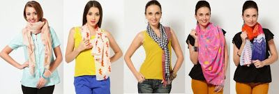 Stylish and trendy scarves in your wardrobe this winter season and stay in fashion! Plus, you can buy scarves online in India.