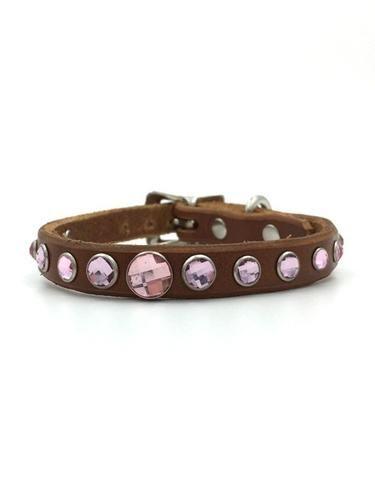 Alika leather collar