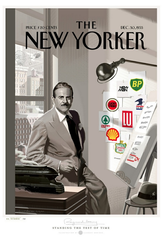 Raymond Loewy one of the early founders of this thing we do. (Walter Dorwin Teague, Norman BelGeddes, Walter Landor)