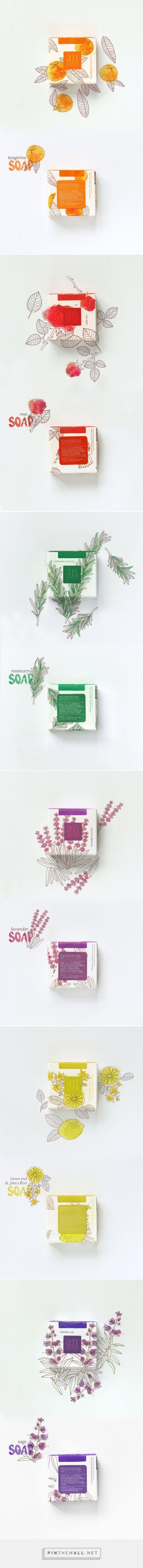 Aroma Mediterranea soaps — The Dieline - Branding & Packaging