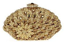 Luxus Volle Kristalle Damen Abend Kupplungen Licht Topas Frauen Party Hard Case Gold Farbe Handtaschen Schulter Kette Geschenkbox //Price: $US $128.52 & FREE Shipping //     #clknetwork