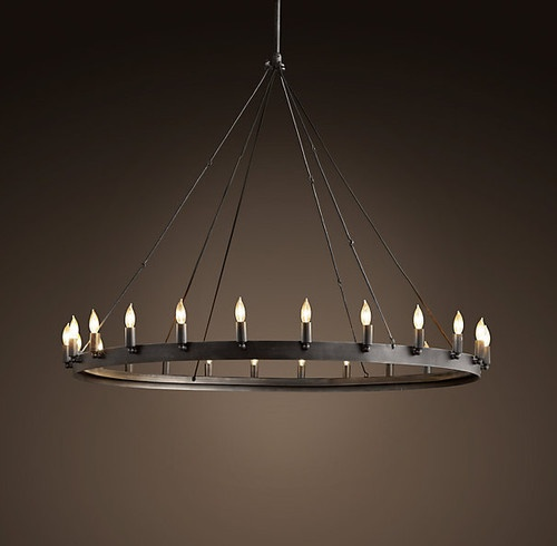 Camino Round Chandelier Medium Contemporary