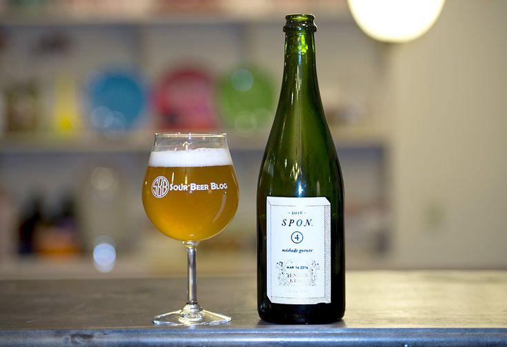 Jester King's Spon Méthode Gueuze is an excellent American sour beer. Check out our tasting and interview with Jeffrey Stuffings! #beer #craftbeer #party #beerporn #instabeer #beerstagram #beergeek #beergasm #drinklocal #beertography