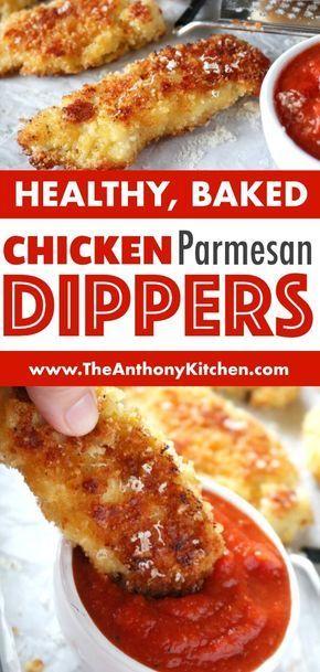 Parmesan Crusted Chicken Tenders