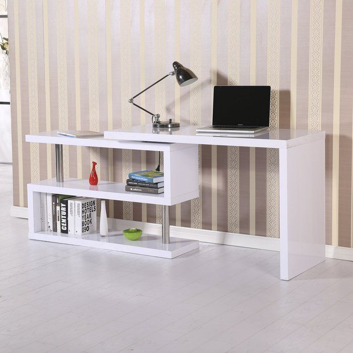 Superb The HomCom Rotating Office Desk Features An Original Rotating Design That  Can Be Adjusted To Your Nice Ideas