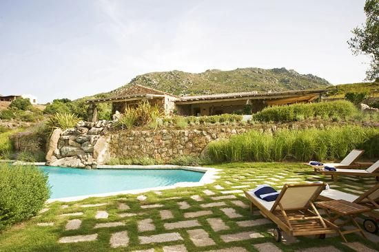 Brand new property for sale in the countryside around Porto Rotondo, 350 mq, 7 bedroom and 7 bathroom, main villa and guest house, 2 swimming pool, 1 hectar of garden, seclusion and privacy. #dreamhome #properties #realestate #luxury #sardinia #forsale