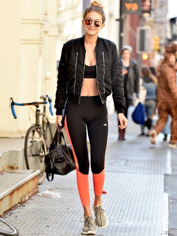 ジジ・ハディッド(Gigi Hadid)が提案する新しいジムスタイル|ジジ・ハディッド(Gigi Hadid)の私服ファッション