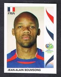 Image result for germany 2006 panini france boumsong