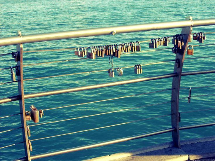 I lucchetti dell'Amore .. Molo di Ceriale