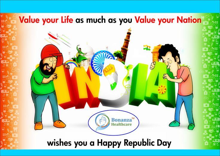 Bonanza Healthcare wishes you a Happy Republic Day .